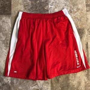 Nebraska Dri-Fit Shorts